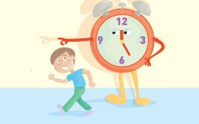 7 dicas para organizar melhor o tempo de seu filho